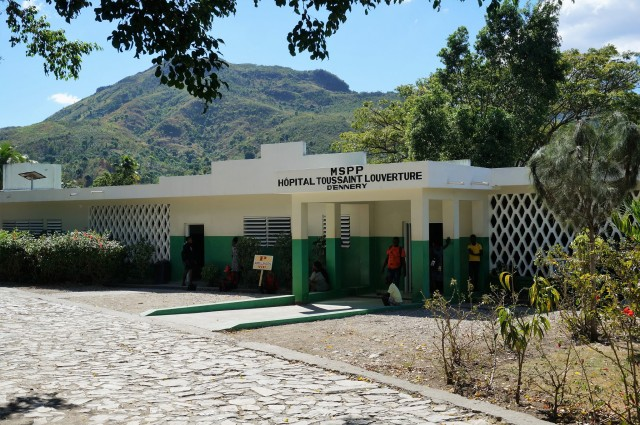 healthcare facility in haiti