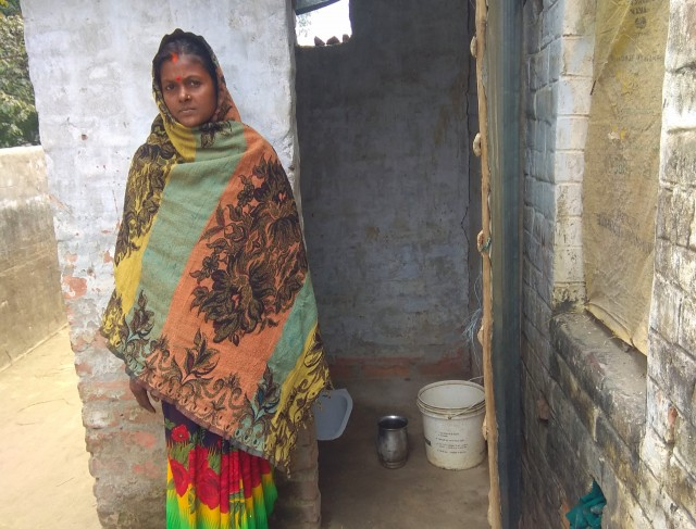 The story of Geeta Devi and her new latrine